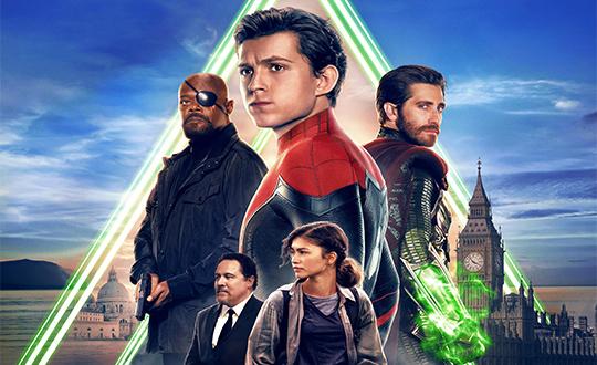 《蜘蛛侠:英雄远征》2.4亿领跑单日票房